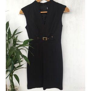 Trina's Turk Black Dress